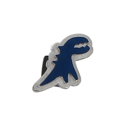 agnes b. - Sport b. 恐龍造型貼耳式單耳耳環(中性)(藍)