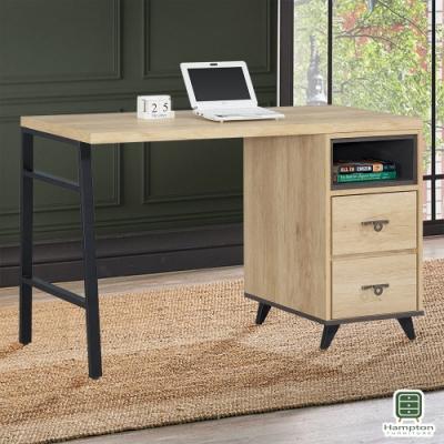 Hampton斯凱拉漂流橡木4.2尺書桌-127.2x58x79cm