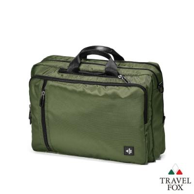 TRAVEL FOX 旅狐包- 4WAY高機能休閒商務包-綠色