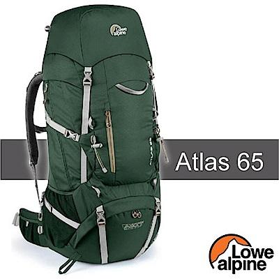 英國 LOWE ALPINE 新款 Atlas 65 輕量登山健行背包_鱷魚綠