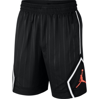NIKE 短褲 運動 健身 慢跑 籃球褲  黑 男款  CD4909010 AS M J JM DIAMOND STRIPED SHO