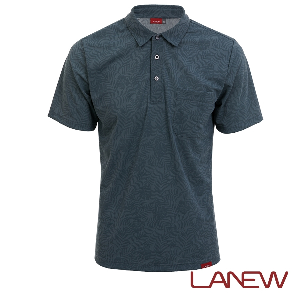 LA NEW 沁涼印花POLO衫(男260120141)