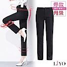 褲子-LIYO理優-MIT顯瘦提臀美腿褲鬆緊彈力OL直筒長褲