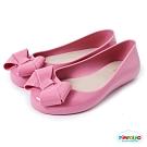 Pimpolho 甜美蝴蝶結娃娃鞋-童-粉紅