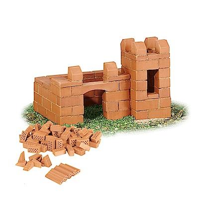 【德國teifoc】DIY益智磚塊建築玩具-筆筒城堡 TEI4000