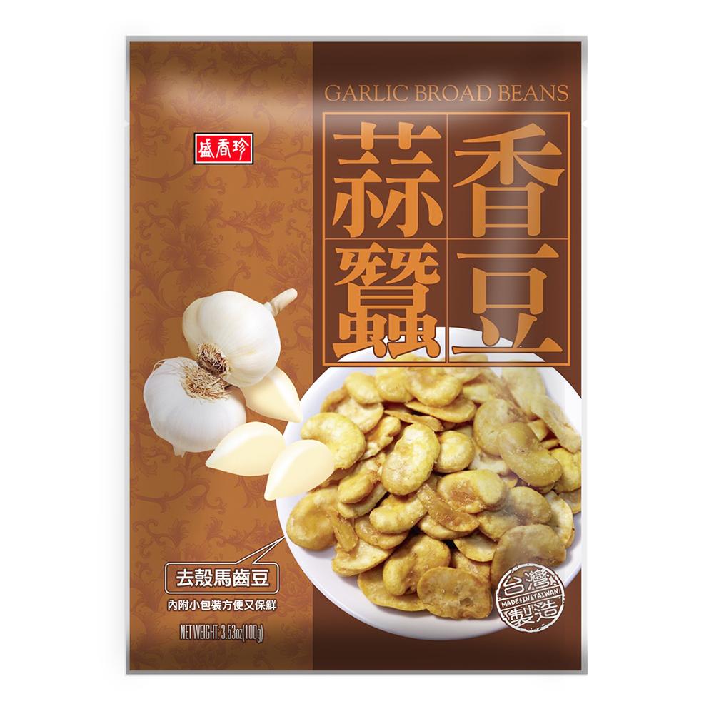 盛香珍 蒜香蠶豆(100g)
