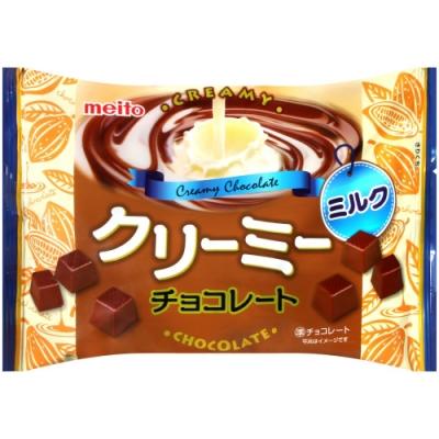 名糖 滑順牛奶風味代可可脂巧克力(160g)