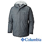 Columbia哥倫比亞 男款-防潑水外套-深灰 UWM12270DY