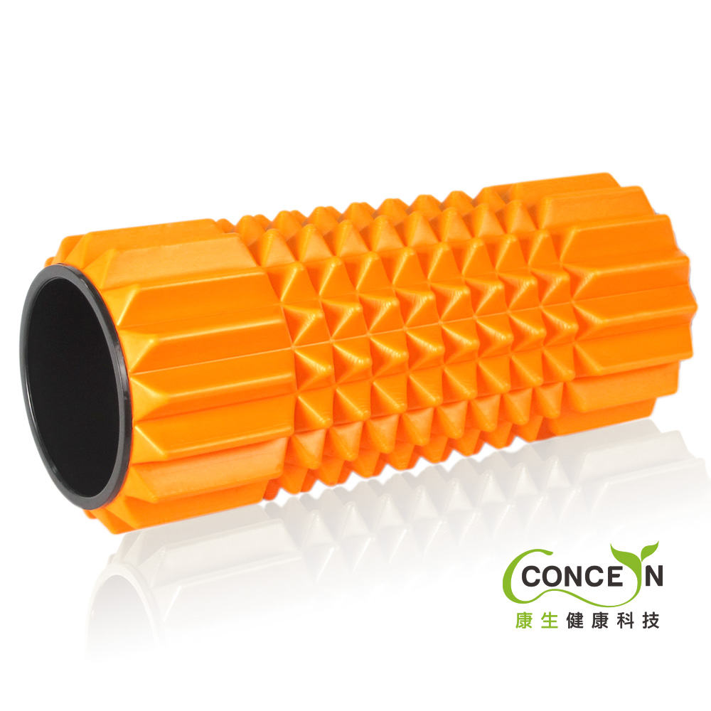 Concern 康生 深層按摩滾筒(亮橘)CON-YG005