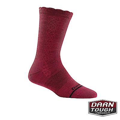 【美國DARN TOUGH】女羊毛襪CABLE BASIC生活襪(2入隨機)