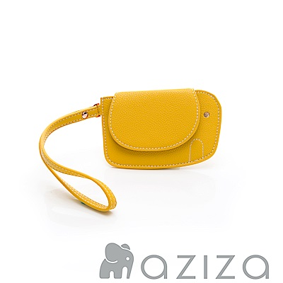 aziza 小象手拎零錢包-黃