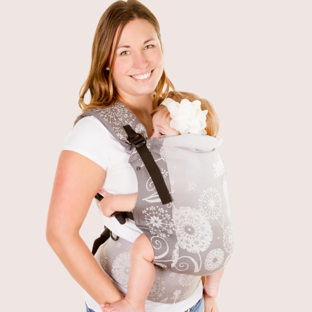 加拿大 Chimparoo Trek 嬰兒揹帶-緹花版-蒲公英月色