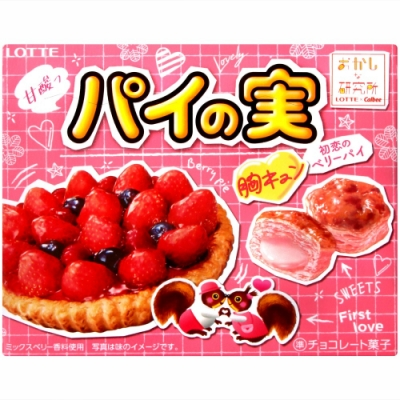Lotte 綜合莓果巧克力風味派(69g)