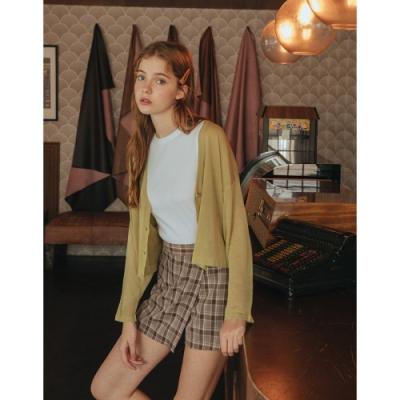【時時樂限定】Shester55-開襟短版針織外套(三色)