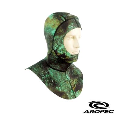 AROPEC Eclipse 1.5mm男款迷彩打獵釣魚頭套 迷彩綠