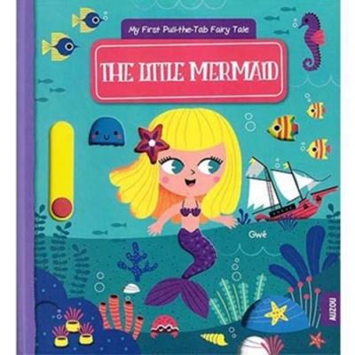 The Little Mermaid 小美人魚推拉硬頁書