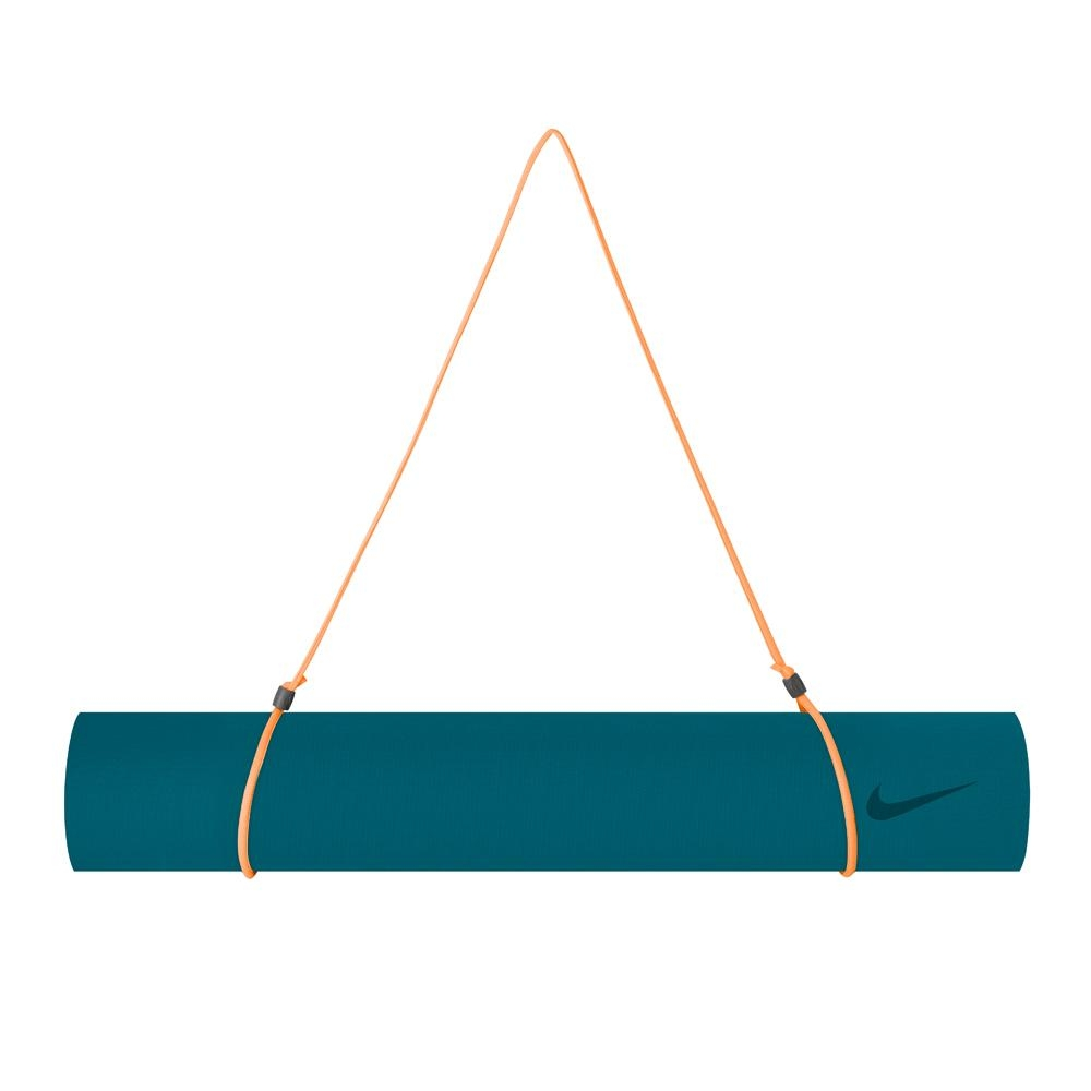 NIKE 瑜珈墊(3mm)-綠藍