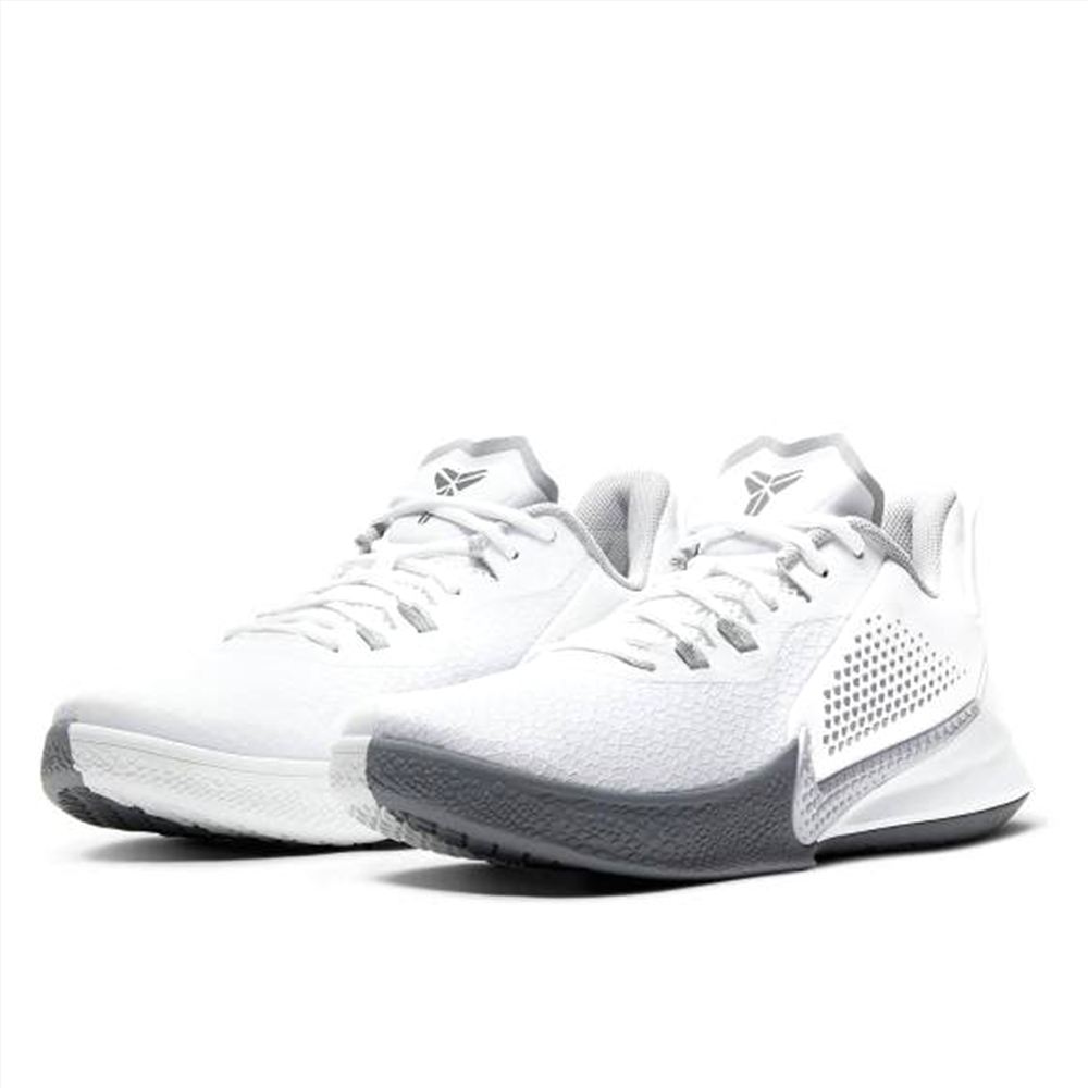 NIKE 籃球鞋 男鞋 避震 包覆 明星款 曼巴 運動鞋 白 灰 CK2088100 KOBE MAMBA FURY EP