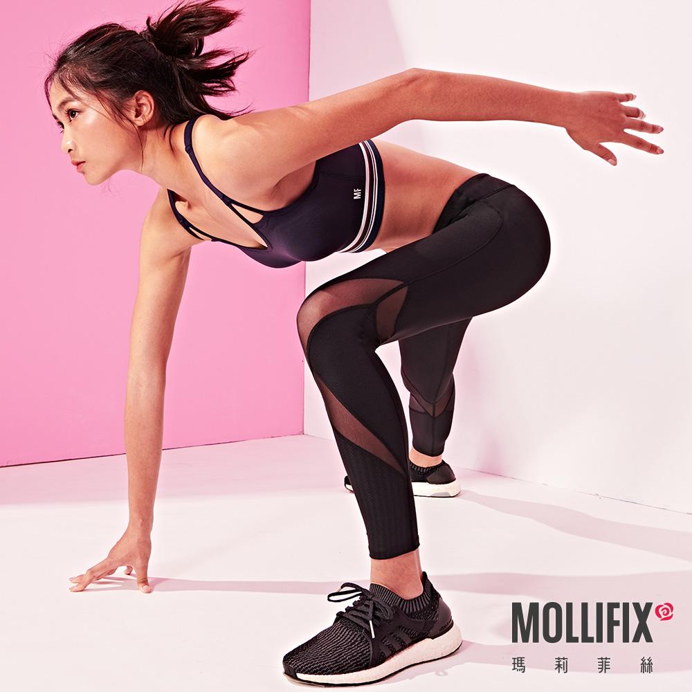 [時時樂限定]Mollifix精選訓練動塑褲