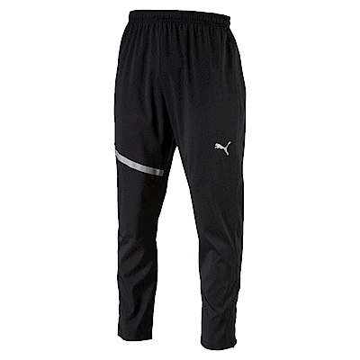 PUMA-男性慢跑系列Run長風褲-黑色-歐規