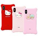 GARMMA Hello Kitty iPhone X/XS 四角氣囊果凍套