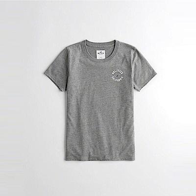 HCO Hollister 海鷗 經典印刷海鷗文字短袖T恤(女)-灰色