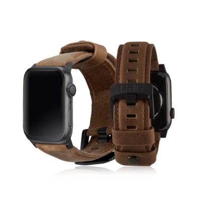 UAG Apple Watch 38/40mm 皮革錶帶-棕