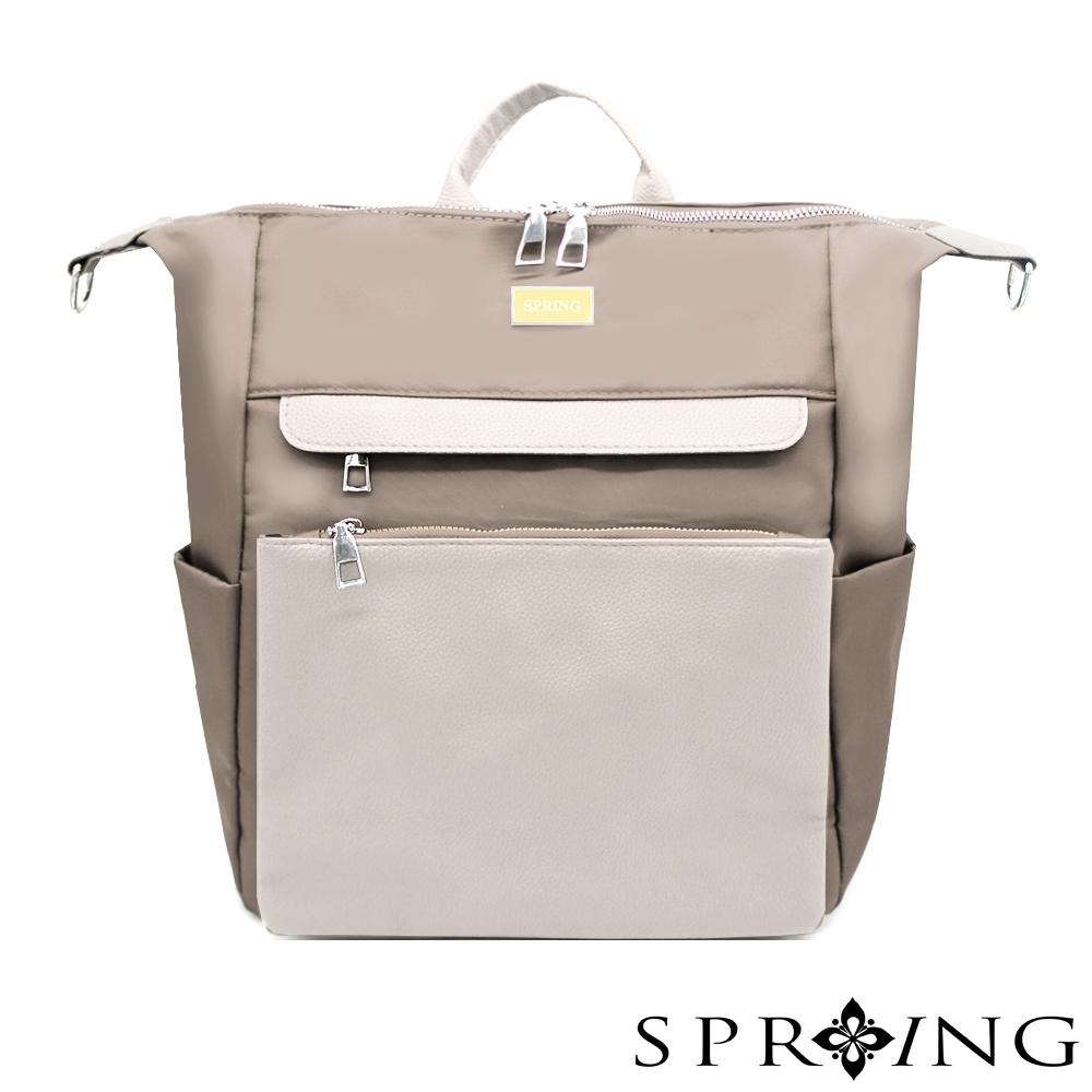 [限時搶]SPRING-未來系列尼龍3用後背包 A4可