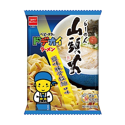優雅食 點心條餅-山頭火鹽味豚骨拉麵口味(82g)