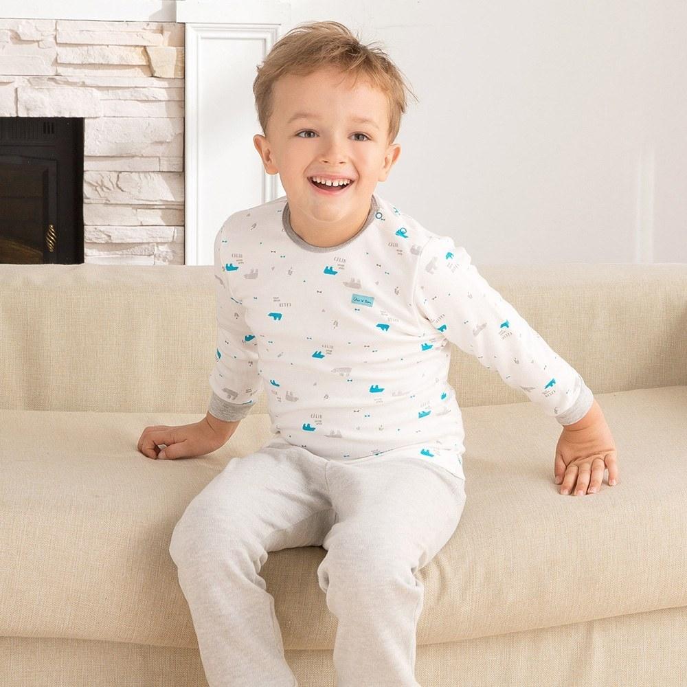 奇哥 摺紙趣側開套裝/居家服-三段天絲棉布(2色選擇)