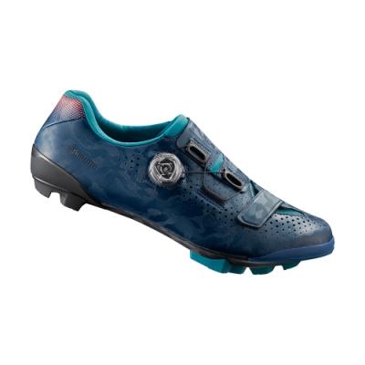 【SHIMANO】RX800 女性GRAVEL競賽車鞋 海軍藍色