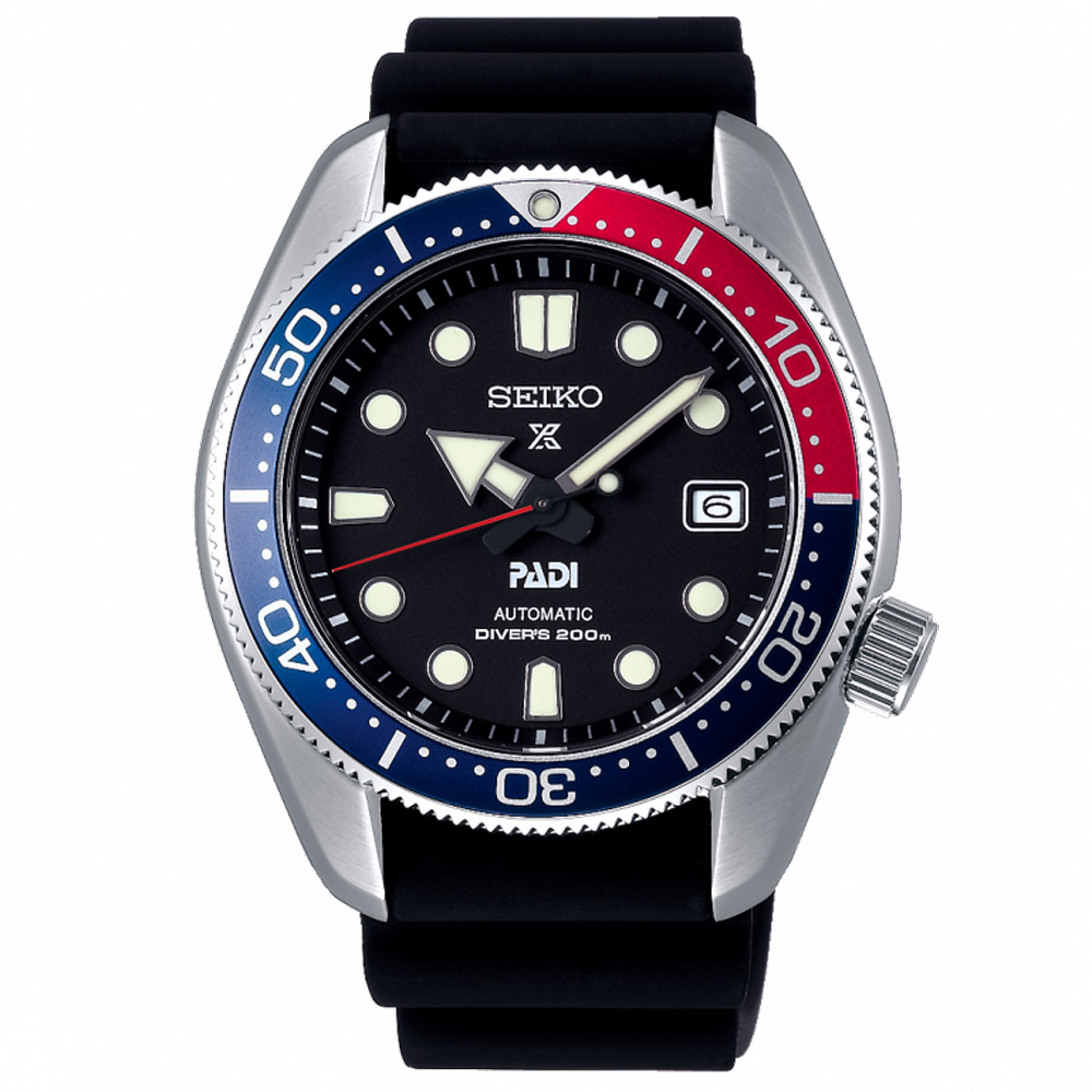 SEIKO 精工 PROSPEX 潛水機械手錶 SPB087J1-黑/44mm