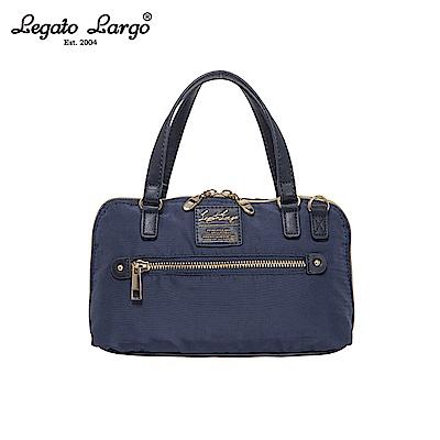 Legato Largo 2WAY兩用手提包-大-深藍 LH-H1053NV