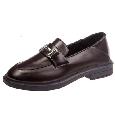 KEITH-WILL時尚鞋館 韓時尚完美英倫自然樂福鞋-棕
