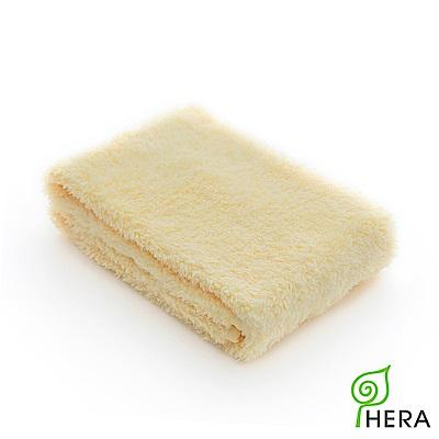 HERA 3M專利瞬吸快乾抗菌超柔纖運動巾-奶油黃