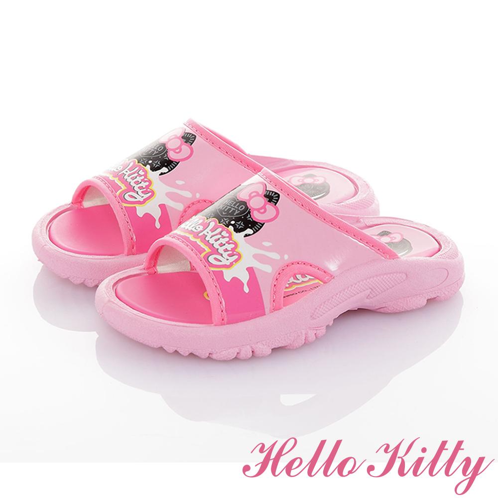 HelloKitty童鞋 輕量減壓拖鞋-粉