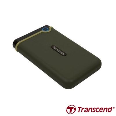 創見 StoreJet 25M3 2.5吋 1TB USB3.1 Gen1 行動硬碟(綠)
