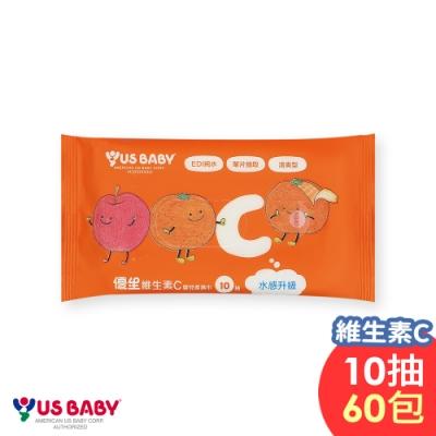 [限時搶購]優生維生素C嬰兒濕巾10抽60包/箱