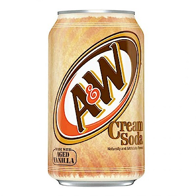A&W 麥根沙士冰淇淋口味(355mlx12瓶)