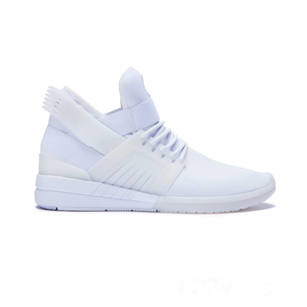 SUPRA Skytop V系列男鞋-白| 休閒鞋