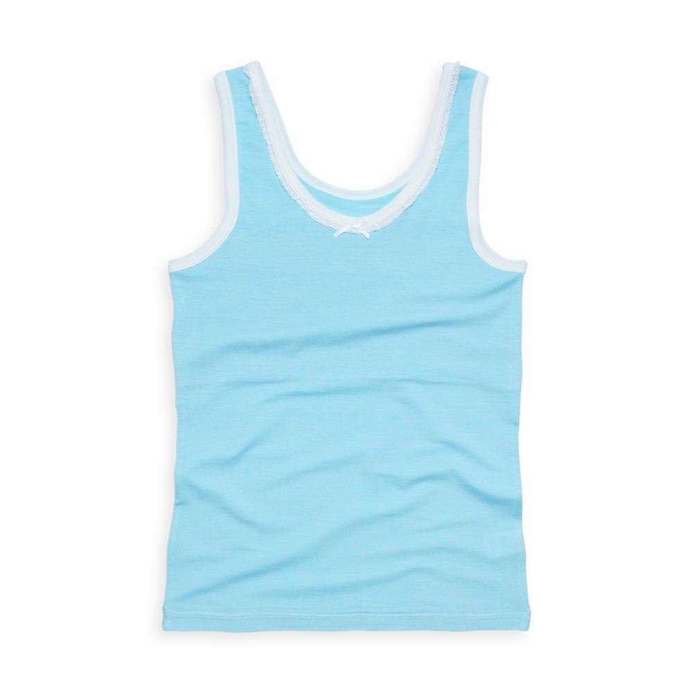 anny pepe 成長型內衣 95%天絲長版背心型-藍