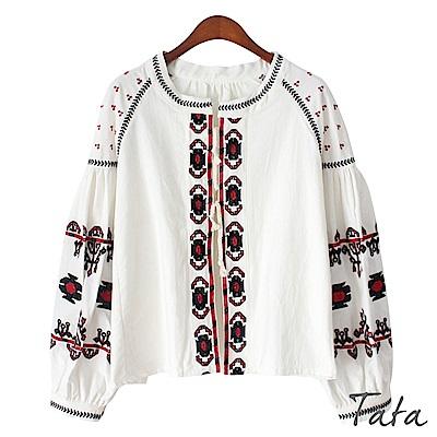 民族風刺繡外套 TATA
