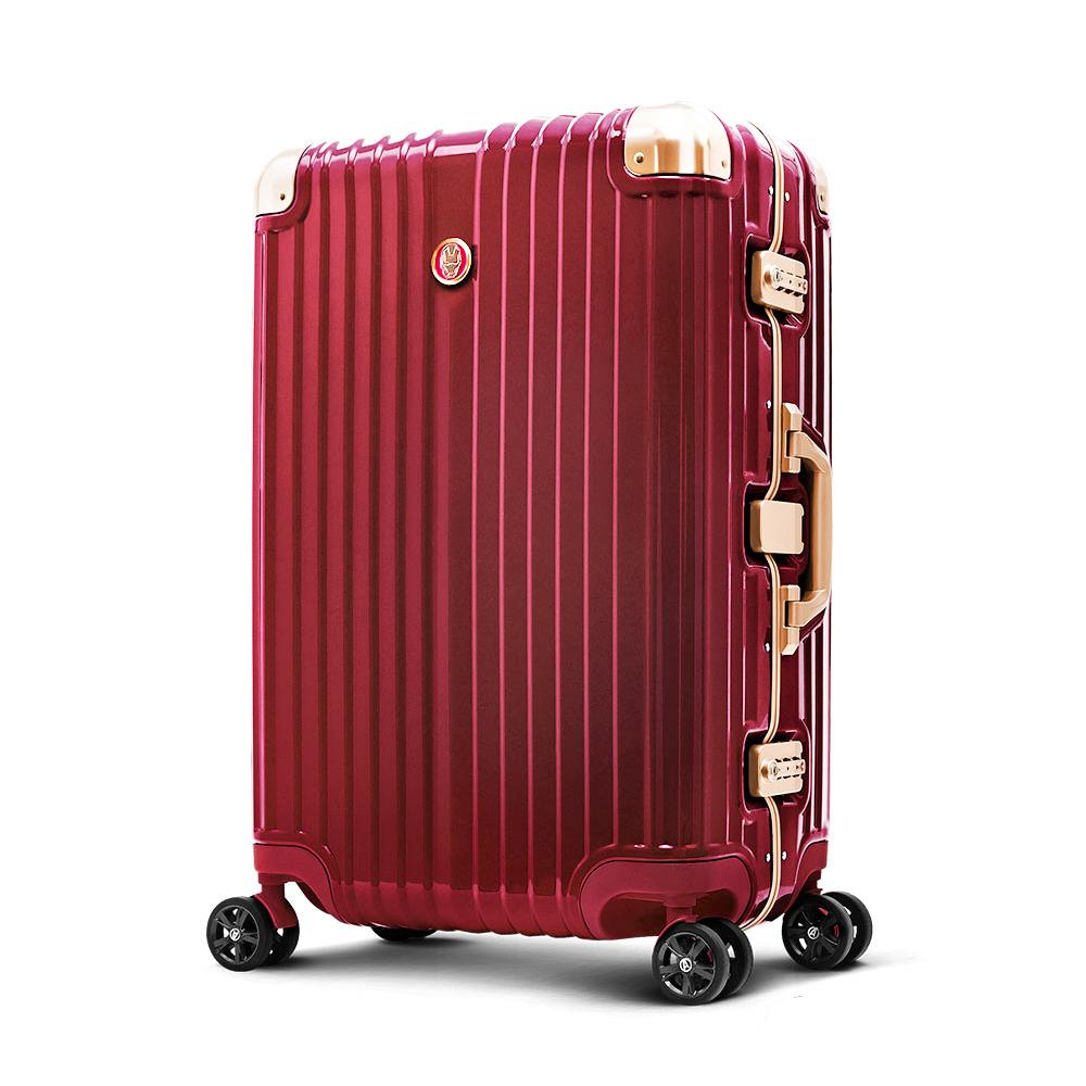 Marvel 漫威復仇者 25吋PC鏡面超細邊鋁框行李箱-鋼鐵人(特仕板)
