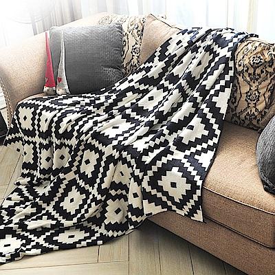 亞曼達Amanda 北歐風純棉針織四季毯 萬用毯 隨意毯 -星語夢格