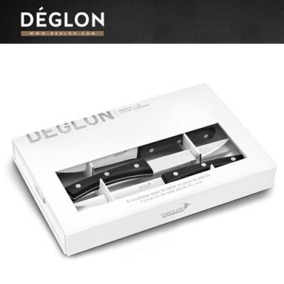 Deglon牛排刀-小酒館風牛排刀6件禮盒