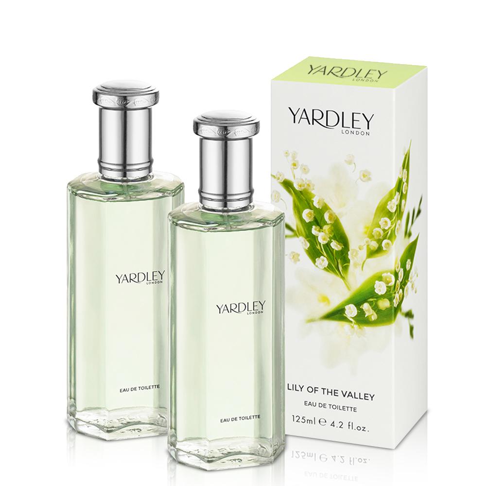 YARDLEY雅麗 山谷百合淡香水125ml X2入