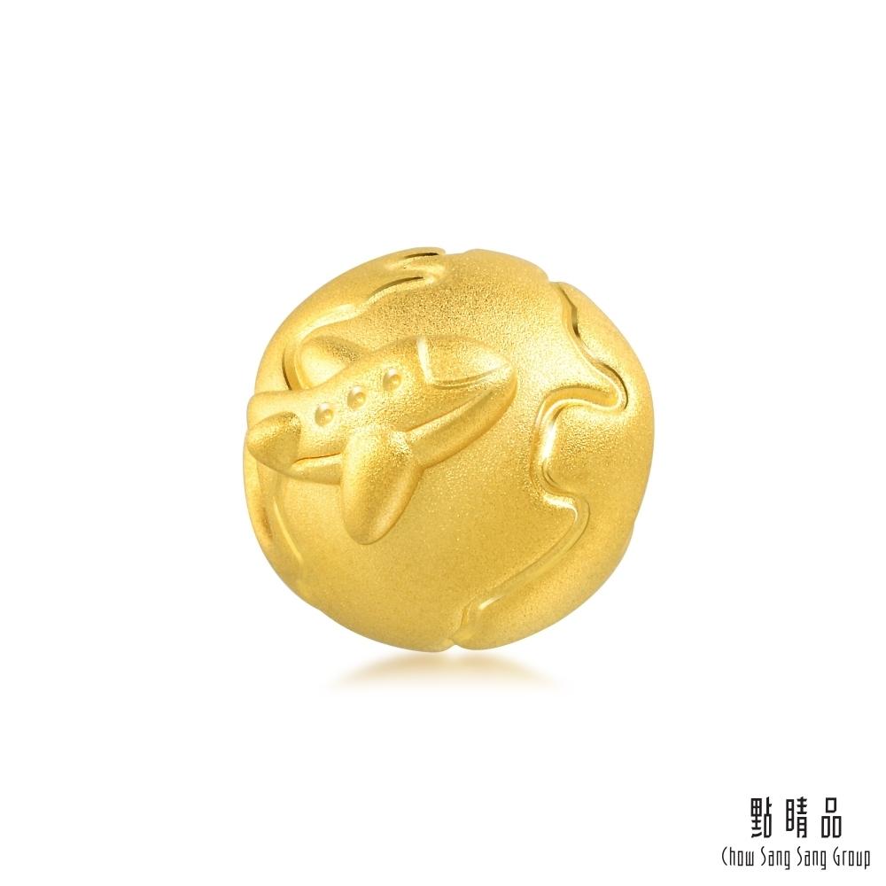點睛品 999純金 Charme 帶我去旅行-環遊世界 黃金串珠