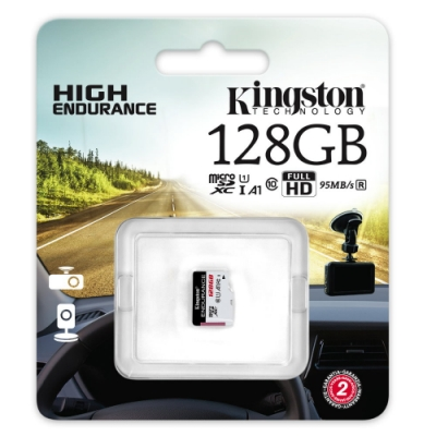 金士頓 Kingston High Endurance microSDXC 128G 高耐專用記憶卡 SDCE/128GB U1 A1
