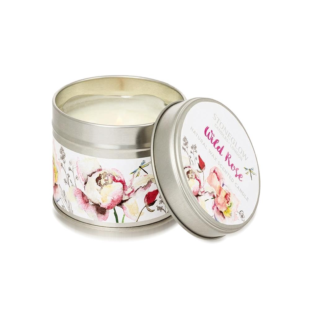 STONEGLOW  Botanics 奔放玫瑰香氛燭罐(180g)