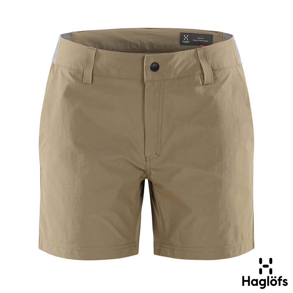 Haglofs 女 Amfibious 彈性 快乾 短褲 沙丘棕